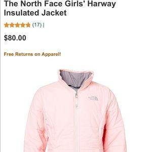 7f9ff9dda New girls The North Face Harway Jacket ❄️🌬 NWT